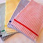 پارچه دستمال نرم و لطیف در رنگهای مختلف